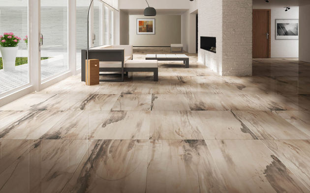 25 Beautiful Tile Flooring Ideas for Living Room, Kitchen and - tile living room floors