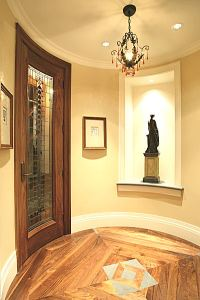 Curved Entry Door by Dynamic Architectural Windows and Doors