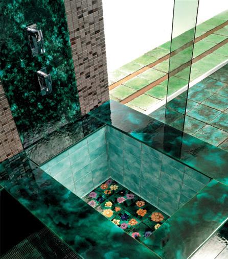 Wallpaper Dolphin 3d Gorgeous Ceramic Tiles By Franco Pecchioli Green