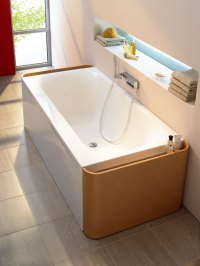 Ideal Standard Bathtub - Moments bathtub with pull-out ...