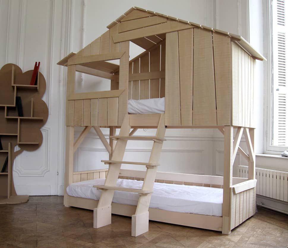 Holz Kinderbetten Kids Playhouse Beds From Mathy By Bols: Loft, Treehouse, Canopy