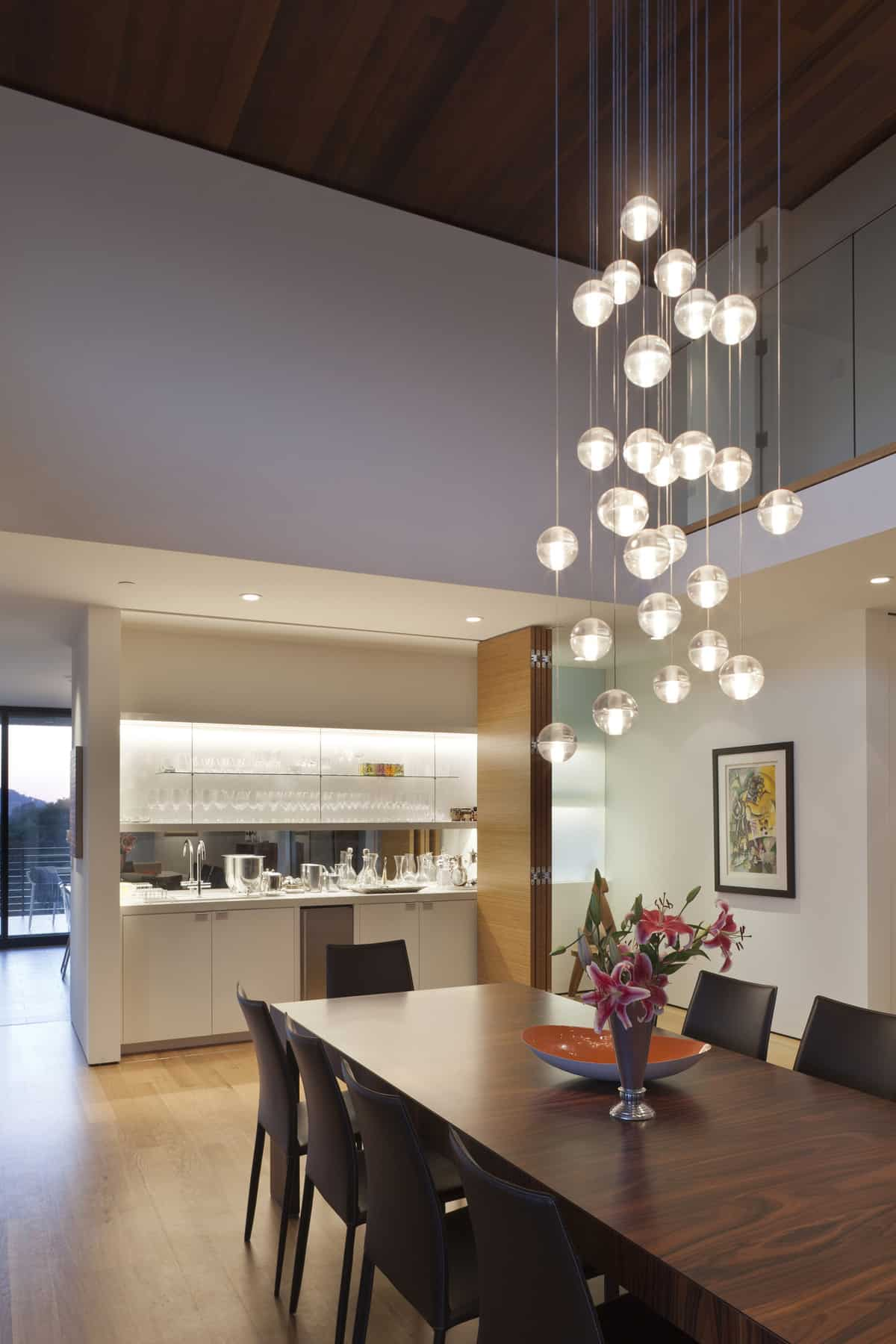 Pendant Lighting White Kitchen Transforming One Storey Ranch Into Two Storey Open Floor