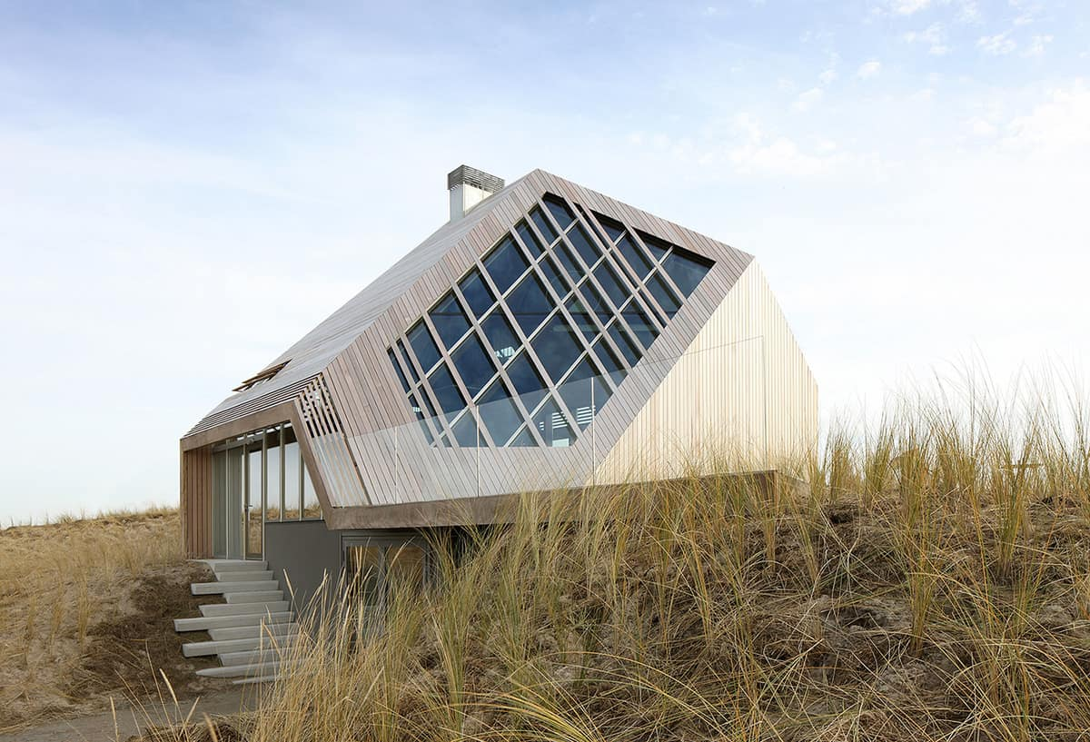 Design Huis Terschelling 5 Geometric House Designs With Super Sophisticated Wood