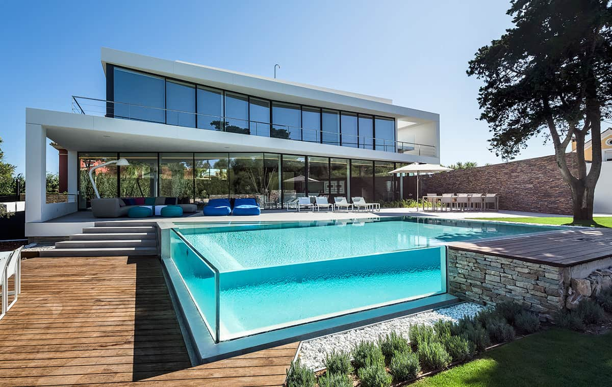 Glas Pool Glass Walled Swimming Pools 10 Amazing Designs