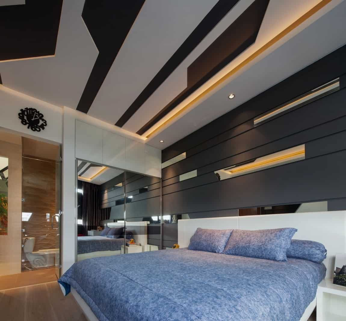 Fall Ceiling Wallpaper Design House With Creative Ceilings And Glass Floors