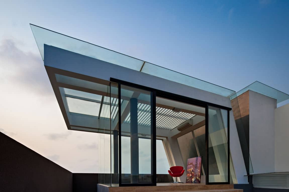 Deckengestaltung Loft House With Creative Ceilings And Glass Floors