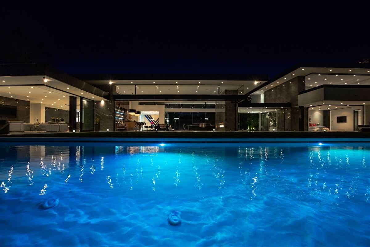 Bel Air Mega Mansion For Sale This Modern Masterpiece With Best Views In Bel Air And