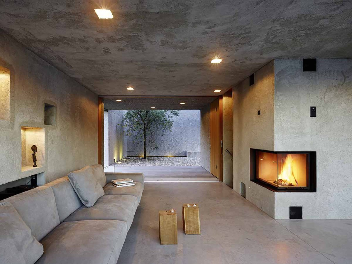 Concrete Rooms Pool Terrace With Sunken Bar Is Not The Only Architectural Wonder