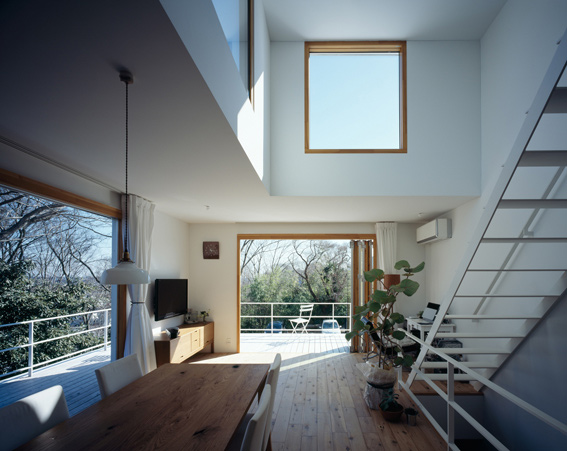 Plan Palette Deck House Plan By Takeshi Hosaka Architects