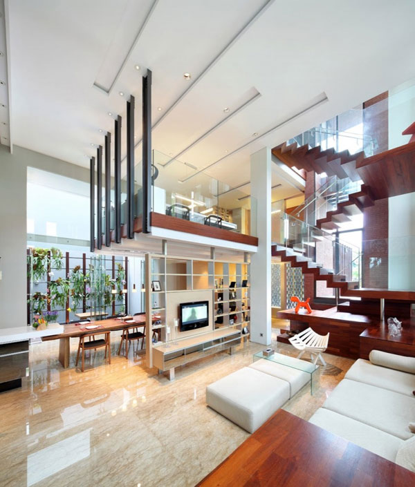 Indonesia Luxury Homes Living Large on a Small Site - luxury home designs