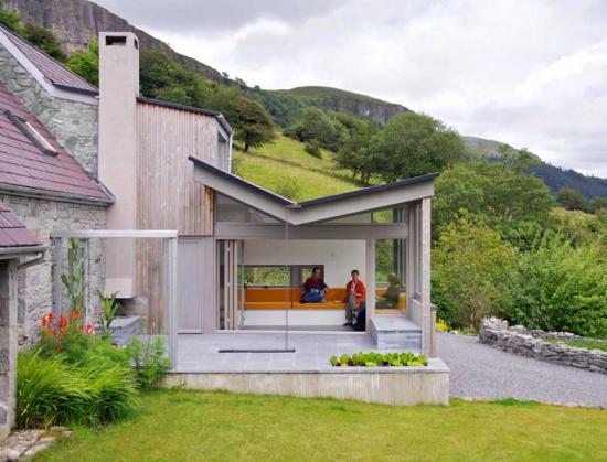 Outdoor Living House Plan Embraces Ireland Landscape