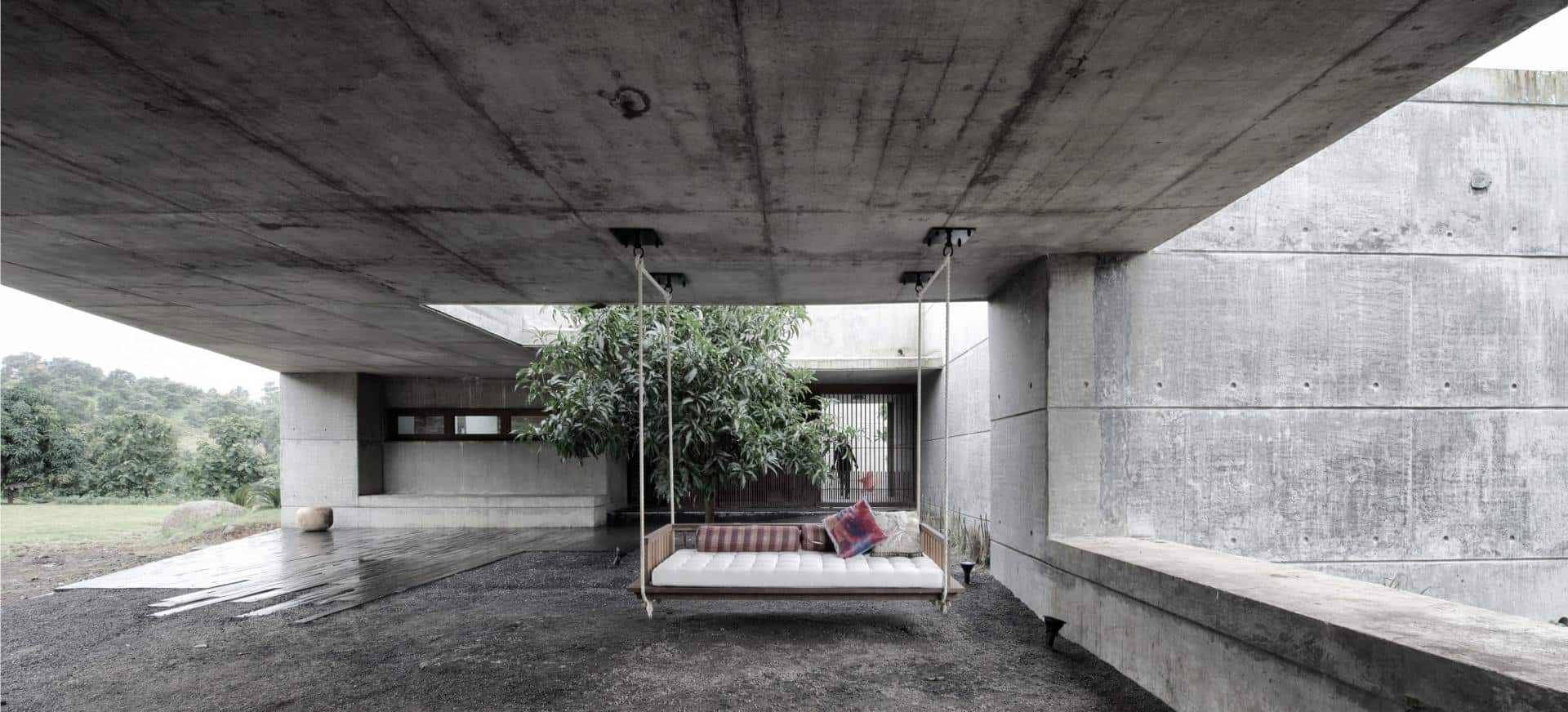 Concrete House Interior Concrete Bunker Like House Is Monsoon Proof