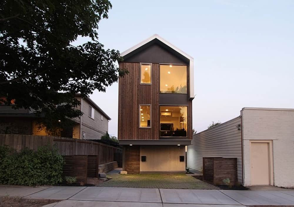 Vertical House Raises Sustainable Seattle Living To New