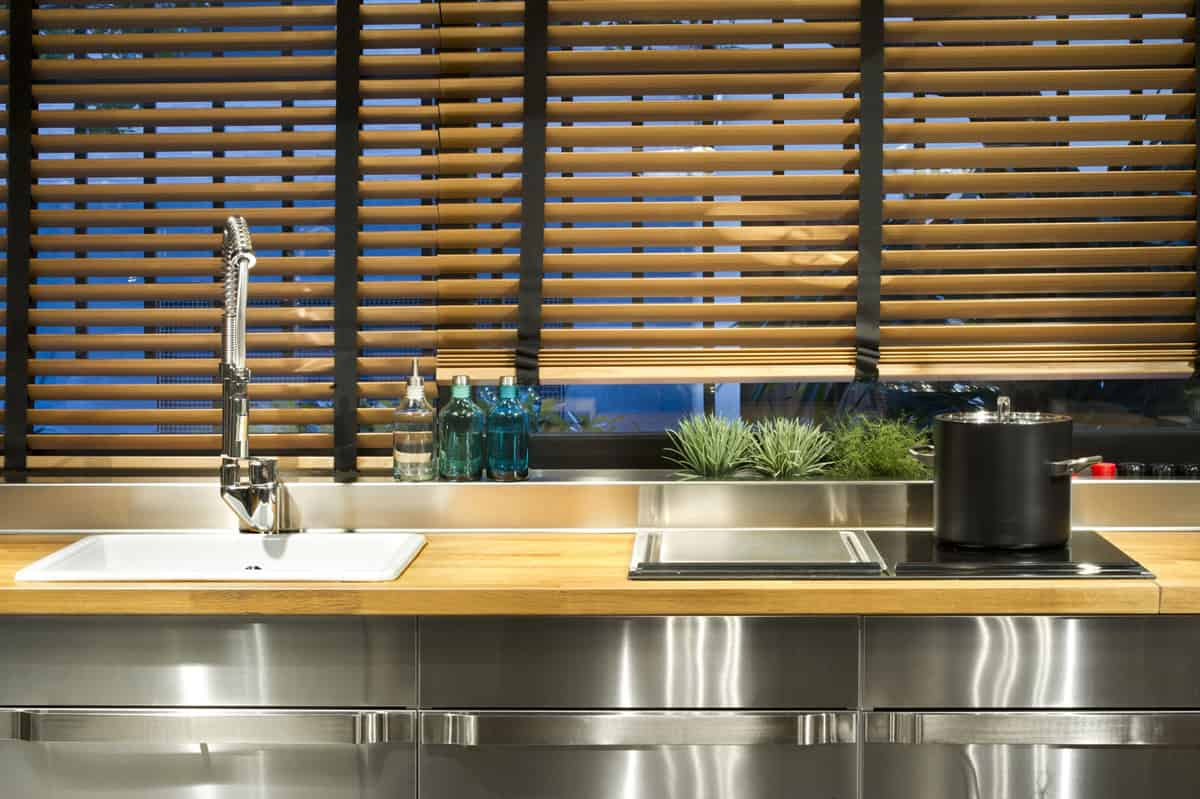 Blinds Warehouse Industrial Style Kitchen Design Ideas Marvelous Images