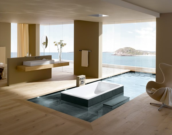 Brilliant Bathroom Design Ideas from Kaldewei - bathroom designs ideas