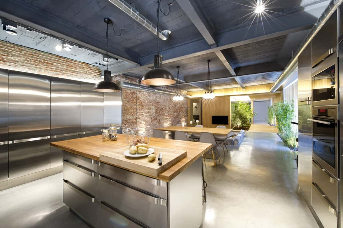 Küche Industrielook Industrial Style Kitchen Design Ideas Marvelous Images