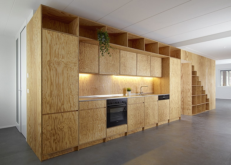 Module Kast Plywood Built-in Furniture By Big Game