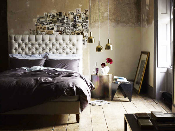 Romantic Bedroom with DIY Photo Idea - diy ideas for bedrooms