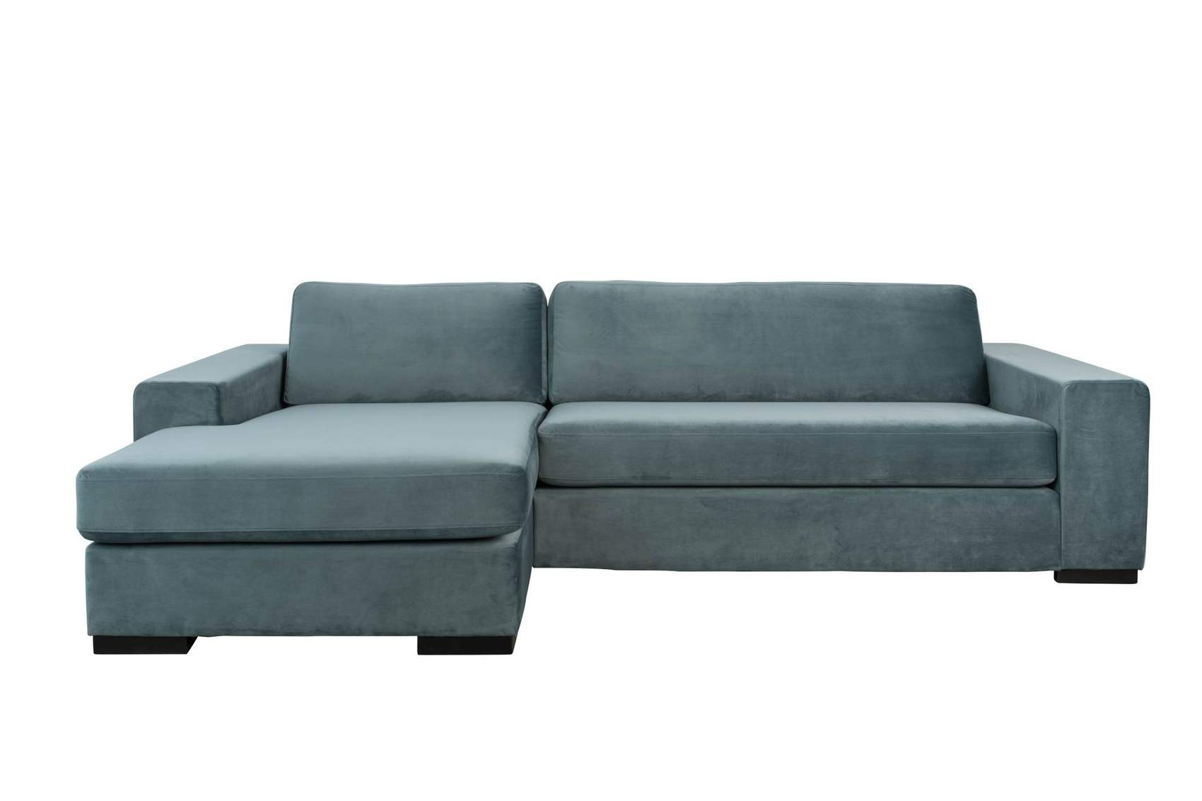 Sofa Petrol Sofa Couch Fiep Left Petrol Von Zuiver Ottomane Links