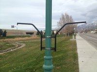 Lamppost Bracket Mounting Instructions | Bloom Master Planters