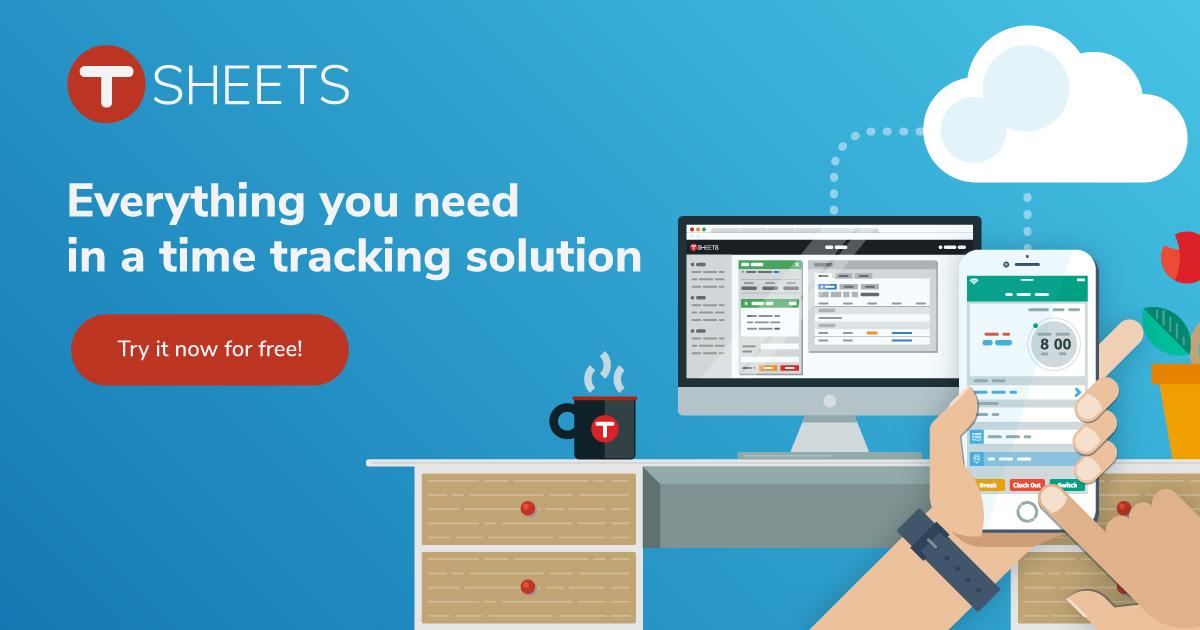 Time Tracking  Employee Timesheet Software Free Trial - TSheets