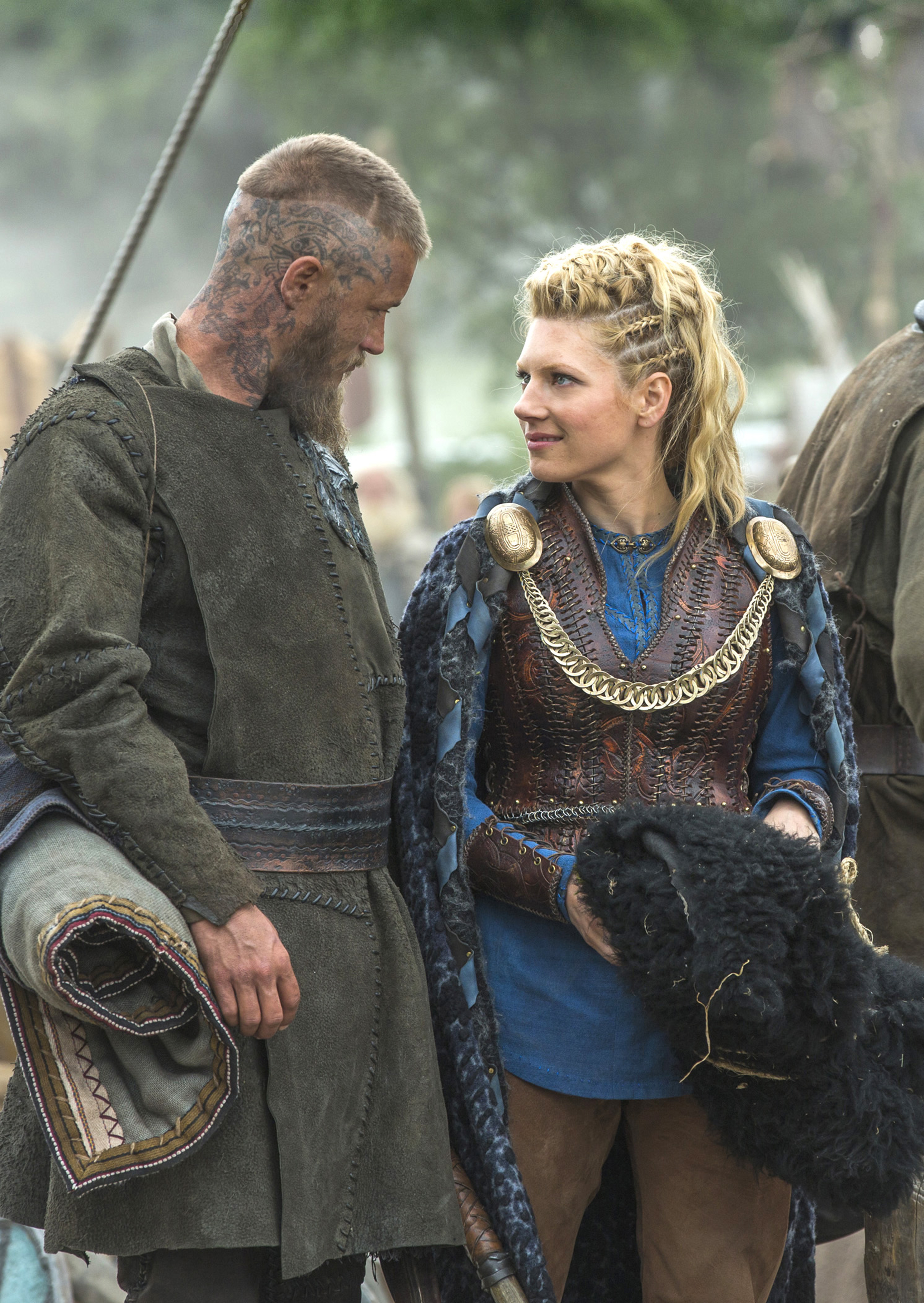 Schildmaid Kostüm History Channels 39vikings 39 Begins Third Season With