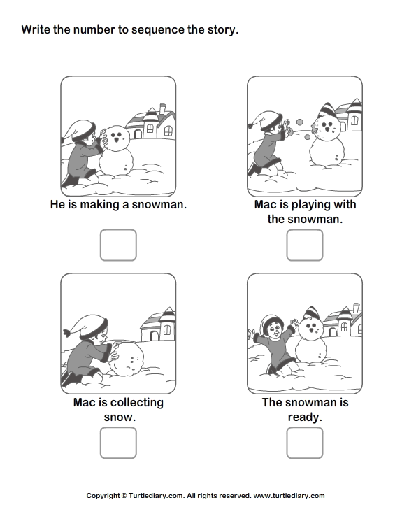 Number Names Worksheets kindergarten stories printable Free – Story Sequencing Worksheets for Kindergarten