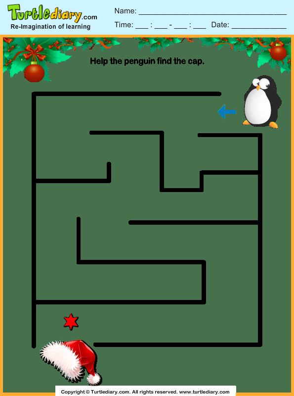 maze worksheet