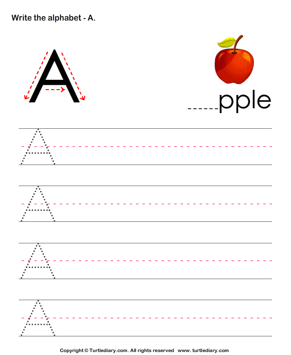 practice writing letters printables