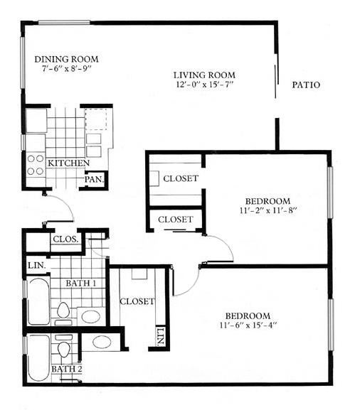schematic floor plan template
