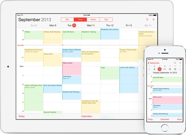 iCloud Guide to Calendars and Reminders - calender s