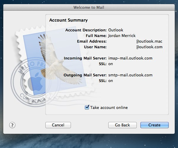How to Set Up Outlook IMAP in Apple Mail or Microsoft Outlook - create outlook account