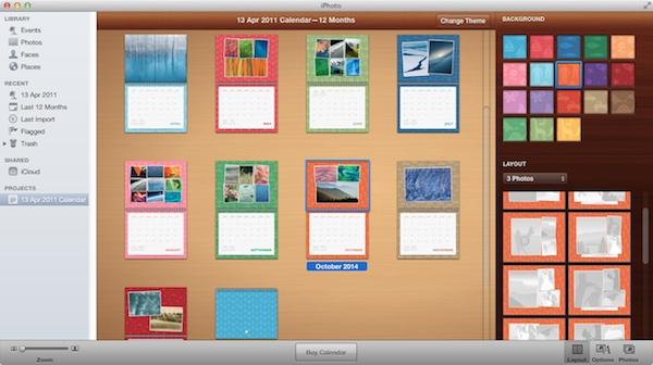 How to Create a Custom Calendar in iPhoto