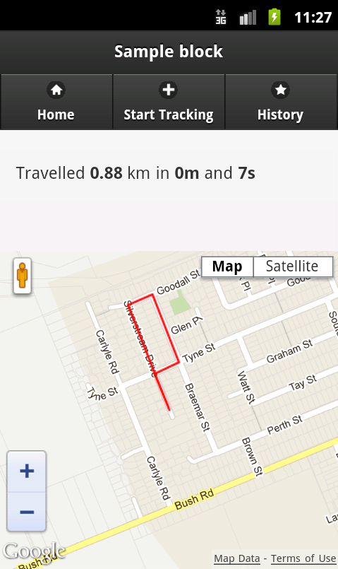 Native App Testing Build An Exercise Tracking App: Geolocation & Tracking