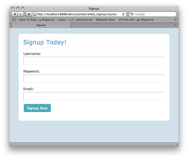 How to Code a Signup Form with Email Confirmation