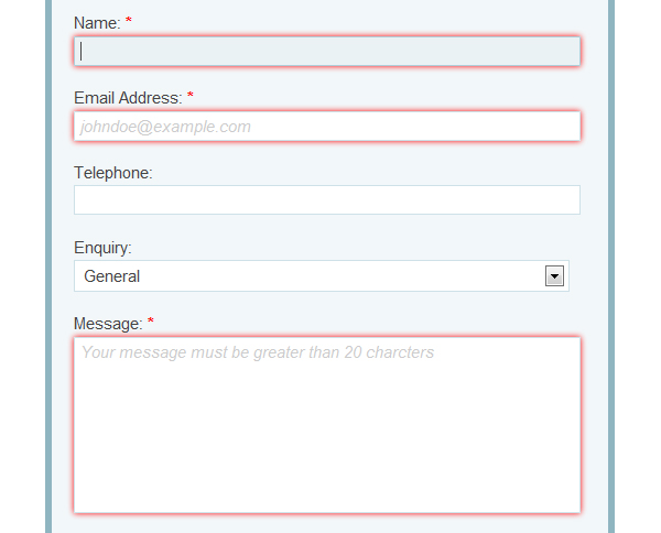 Build a Neat HTML5 Powered Contact Form