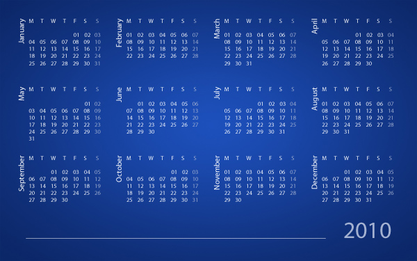 Create a Calendar Using Scripting in Photoshop