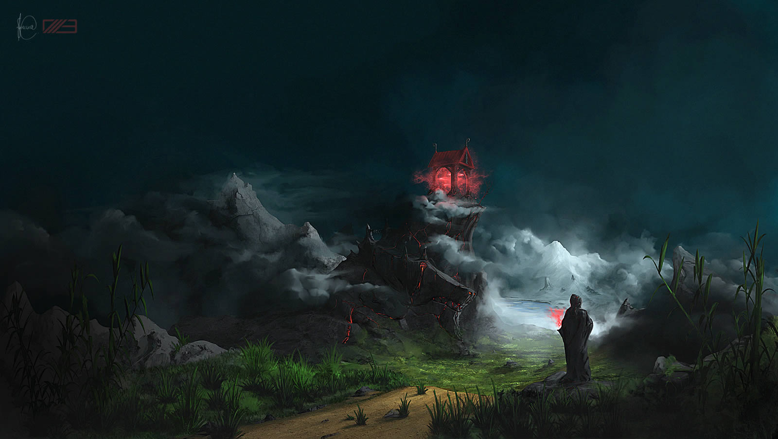 Dodge Car Wallpaper Create A Fantasy Landscape Using Digital Painting Techniques