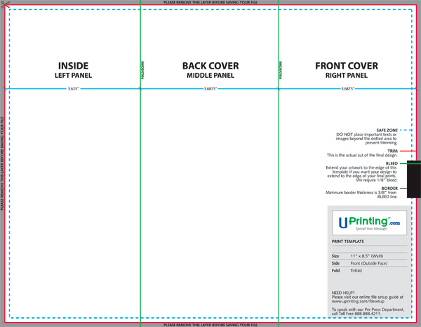 Create and Print a Brochure with Photoshop, Indesign and UPrinting