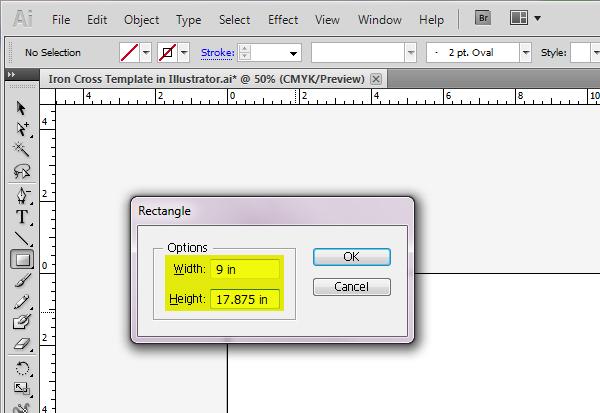 How to Create an Iron Cross Self-Mailer Template Using Adobe Illustrator