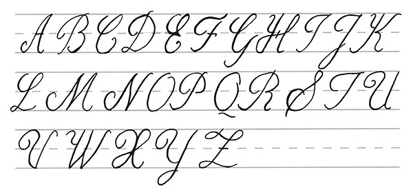 Mastering Calligraphy How to Write in Cursive Script - fancy cursive letters