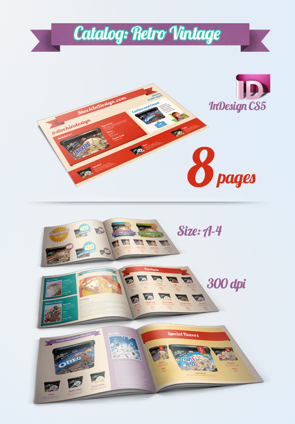 Catalog Template \u2013 InDesign Freebie