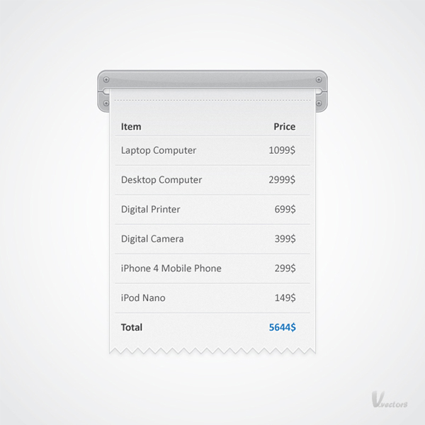 Quick Tip How to Create a Receipt Illustration in Adobe Illustrator - How Do You Make A Receipt
