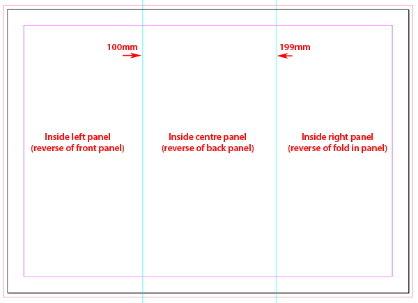 Quick Tip Creating a Tri-fold template in InDesign CS5