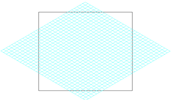 Quick Tip How to Create an Isometric Grid in Less than 2 Minutes!