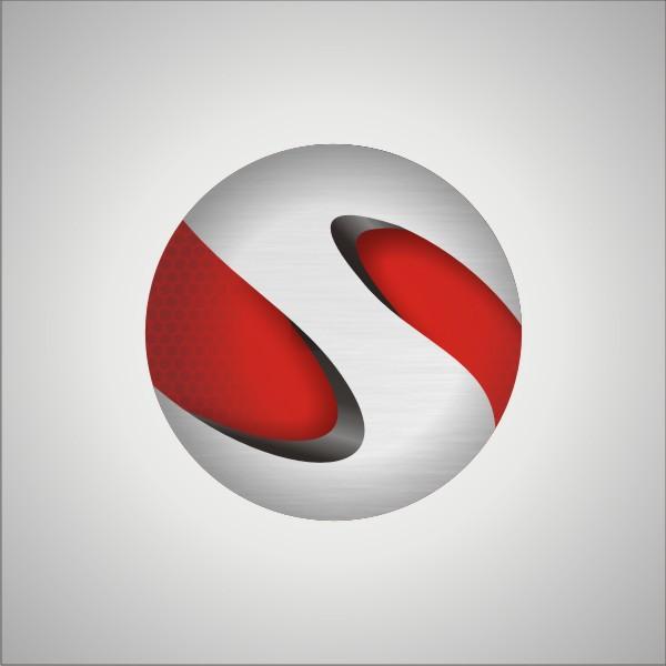 Vector Art - Creative Simple Letter J Logo Design Clipart