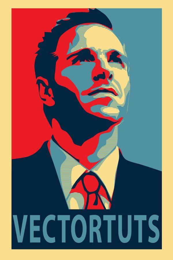 Create an Inspirational Vector Political Poster - propaganda poster template