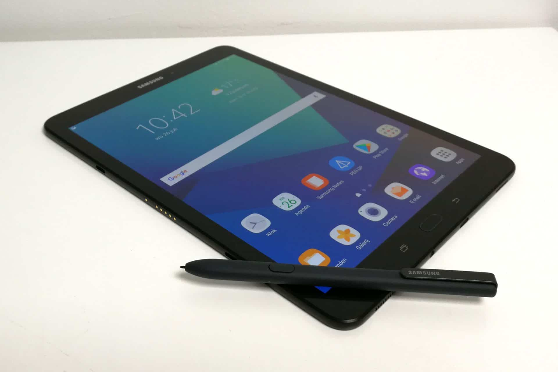 Grote Tablet Review Samsung Galaxy Tab S3 Tablet Een Tab Met S Pen Techzine Nl