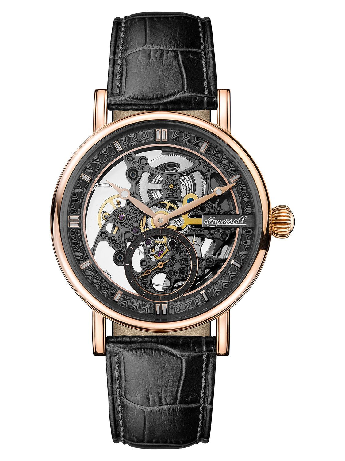 Ingersoll Automatik Ingersoll Automatic Mens Skeleton Watch The Herald I00403