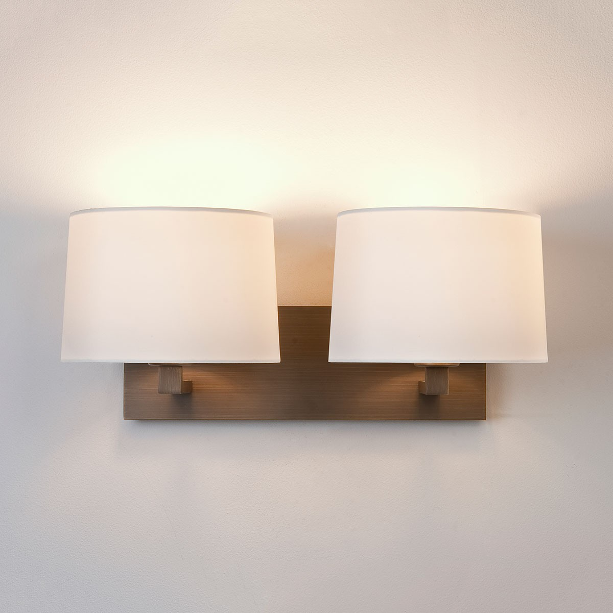 Wall Light Astro Azumi Twin Bronze Wall Light At Uk Electrical Supplies